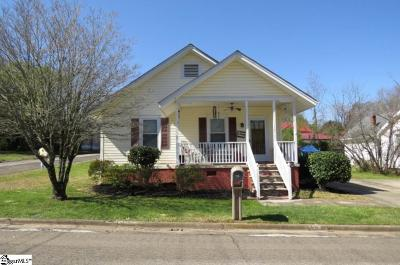 Easley Single Family Home For Sale: 110 S 4th