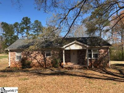 Easley Single Family Home Contingency Contract: 111 Terri Acres