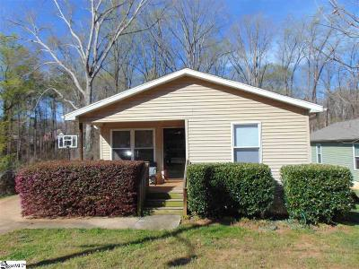 Clemson Single Family Home Contingency Contract: 220 Stephens