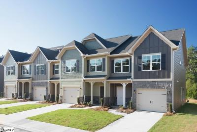 Simpsonville Condo/Townhouse For Sale: 504 Milbury #Lot 95