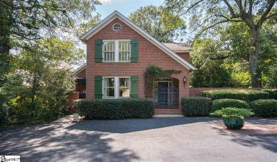Greenville Single Family Home Contingency Contract: 4 Byrd