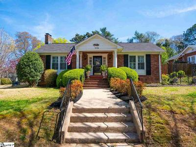 Spartanburg Single Family Home For Sale: 179 Mills