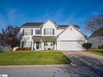 Greenville County Single Family Home Contingency Contract: 16 Irish Moss