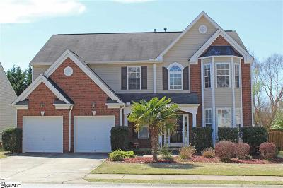 Simpsonville SC Single Family Home For Sale: $259,000