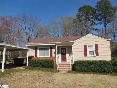 Greenville SC Single Family Home Contingency Contract: $134,900
