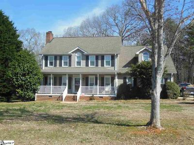 Easley Single Family Home For Sale: 406 Planters Walk