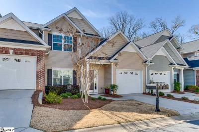 Greenville County Condo/Townhouse For Sale: 178 Shady Grove