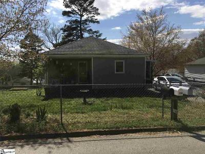 Easley Single Family Home Contingency Contract: 133 Rock View