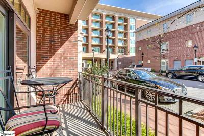 Greenville Condo/Townhouse For Sale: 155 Riverplace #Unit 105