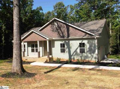 Laurens Single Family Home For Sale: 106 Indian Ridge