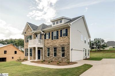 Inman Single Family Home For Sale: 245 Rushing Waters #Lot 89