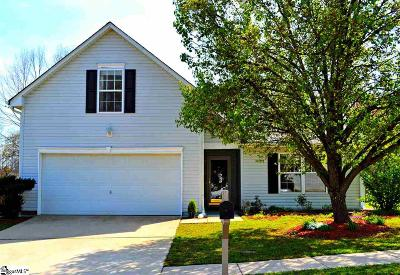 Simpsonville Single Family Home For Sale: 108 Acacia