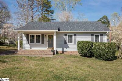 Simpsonville Single Family Home Contingency Contract: 401 Willow Branch