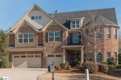 Simpsonville Single Family Home Contingency Contract: 204 Candleston