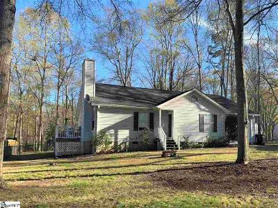 Simpsonville Single Family Home For Sale: 132 Wilbon