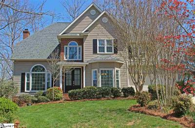 Simpsonville Single Family Home Contingency Contract: 6 Mallard Ridge