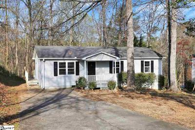Greer Single Family Home Contingency Contract: 103 Sherwood