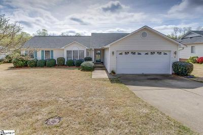 Greenville County Single Family Home Contingency Contract: 419 Milstead