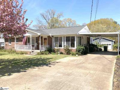 Mauldin Single Family Home Contingency Contract: 306 Woodland