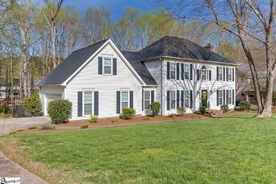 Easley Single Family Home For Sale: 107 N Clearstone