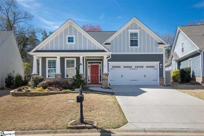 The Cove At Butler Springs Single Family Home For Sale: 24 Wiscasset