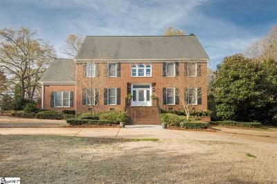 Greenville Single Family Home For Sale: 56 Club Forest