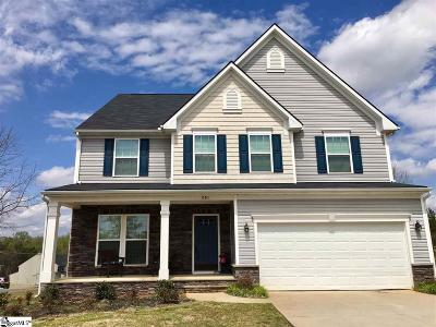 Easley Single Family Home For Sale: 201 Lily