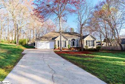 Simpsonville Single Family Home Contingency Contract: 108 Arbordale