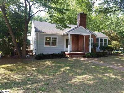 Greenville Rental For Rent: 55 E Tallulah