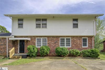 Greenville Rental For Rent: 701 S Florida #Apt B