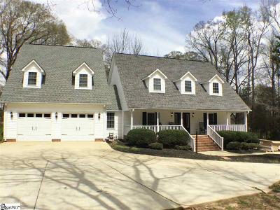 Laurens Single Family Home For Sale: 112 Peninsula