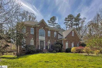 Easley Single Family Home For Sale: 205 Tulip Tree