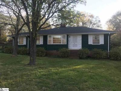 Greenville SC Single Family Home For Sale: $209,900