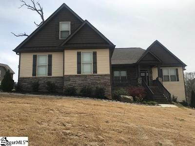 Easley Single Family Home For Sale: 113 Jericho Creek