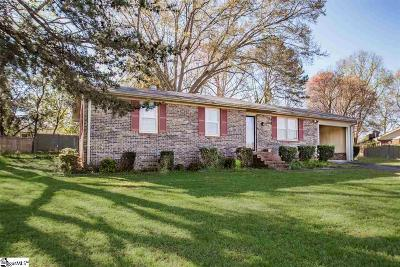 Easley Single Family Home For Sale: 111 Ballentine