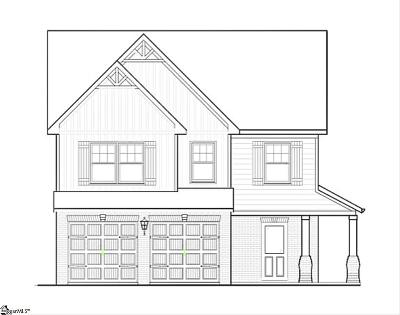 Spartanburg Single Family Home Contingency Contract: 241 N Radcliff