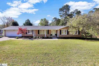 Mauldin Single Family Home Contingency Contract: 411 Knollwood