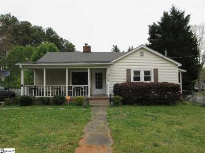 Greer Single Family Home Contingency Contract: 109 S Beverly
