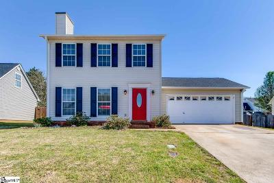 Greer Single Family Home Contingency Contract: 134 Fawnbrook