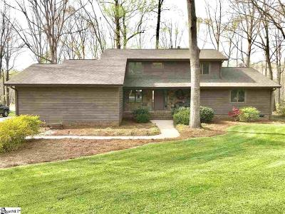 Taylors Single Family Home For Sale: 186 Sandstone