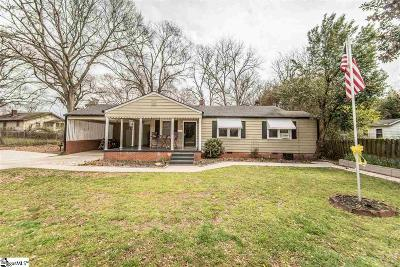 Easley Single Family Home Contingency Contract: 101 S D