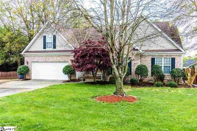 Simpsonville SC Single Family Home For Sale: $255,000