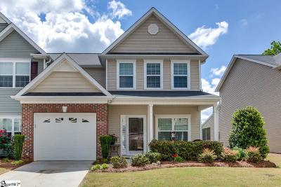 Simpsonville Condo/Townhouse For Sale: 182 Shady Grove