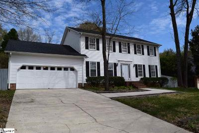 Greer Single Family Home For Sale: 107 Cliffwood