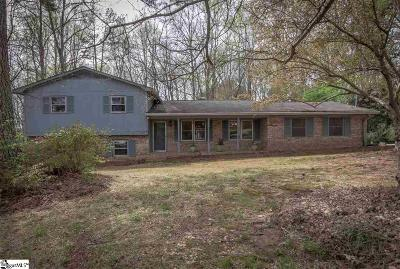 Easley Single Family Home Contingency Contract: 307 Asbury