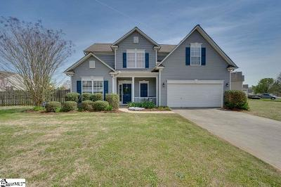 Greer Single Family Home For Sale: 725 Golden Tanager