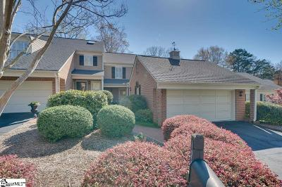 Greenville County Condo/Townhouse For Sale: 1249 Shadow