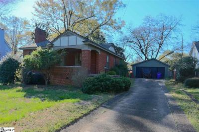 Augusta Road Single Family Home Contingency Contract: 40 E Tallulah