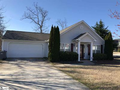 Greenville County Single Family Home For Sale: 100 Maycox