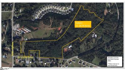 Easley Residential Lots & Land For Sale: 2707 Pelzer
